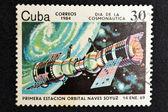 Statek kosmiczny sojuz — Zdjęcie stockowe