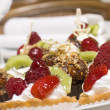 Cake with berries and fruit - ストック写真