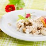 Healthy breakfast - muesli and fruits — Stock Photo #11290316