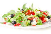 Griechischer salat — Stockfoto
