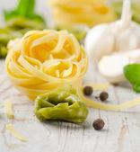 Italian healthy food - pasta — Stock Photo