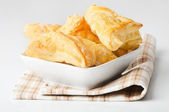 Puff pastry patties — Stock Photo