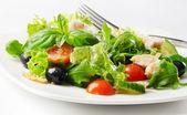 Fresh chicken salad — Stock Photo