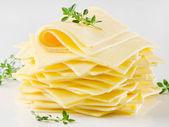 Cheese slices — Stock Photo