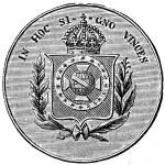 10,000 Reis, Brazil, 1876 — Stock Photo #11863150