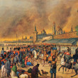 An unknown Austrian artist - Moscow fire in 1812 — Stock Photo #11863530