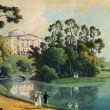 Постер, плакат: Andrey Martynov Pavlovsk View of the Palace