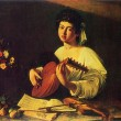 Caravaggio - The Lute Player — Stock Photo