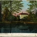 Castle Domanze, Schweidnitz (now Wroolaw) — Stock Photo