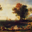 Постер, плакат: Claude Lorran The Rape of Europa