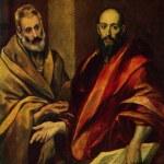 Постер, плакат: El Greco The Apostol Peter and Pavel The Hermitage St Peterb