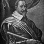 Постер, плакат: Gustavus Adolphus of Sweden painting by Van Dyck 1620