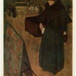 Постер, плакат: Henri Jacques Edouard Evenepoel Walking woman