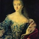 Постер, плакат: Ivan Argunov Portrait of Princess Ekaterina Alexandrovna Loba