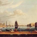 John Heaviside Clark and Matthew Dubourg - Isaac pontoon brid — Stock Photo #11867237