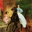 Постер, плакат: Karl Briullov The Rider