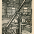 Large refractor of Pulkovo Observatory near St Petersburg — Stock Photo