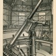 Large refractor of Pulkovo Observatory near St Petersburg — Stock Photo #11867443