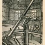 Large refractor of Pulkovo Observatory near St Petersburg — Stock Photo