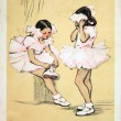 Little Ballerinas — Stock Photo #11867553