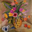 Martiros Saryan - Flowers of the East, The Saryan Museum, Yereva - Stockfoto