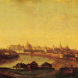 Постер, плакат: Maxim Vorobiev View of the Moscow Kremlin on Ustyinsky bridge