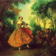 Nicolas Lancret - The Dancer La Camargo — Stock Photo