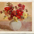 Painting artist KseniCupecio - Dahlias, 1960 — Stock Photo #11868202