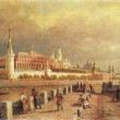 Постер, плакат: Pavel Vereshchagin View of the Moscow Kremlin 1879