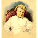 Постер, плакат: Petr Vasilev Vladimir Lenin in childhood
