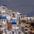 View of Oia village in Santorini i — Foto Stock