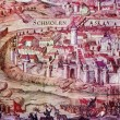 Siege of Smolensk fortress troops Sigismund III in 1609 - 1611's — Stock Photo