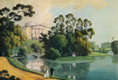 Andrey Martynov - Pavlovsk, View of the Palace — Stockfoto