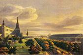 Auguste gadolle - arena en het kremlin tuinen — Stockfoto