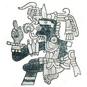 Aztec God of WeatherTlaloc — Stock Photo