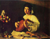 Caravaggio - The Lute Player — Stock Photo