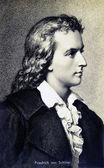 Friedrich von Schiller — Stock Photo
