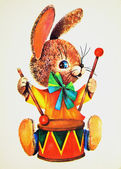 Hare-drummer — Stock Photo