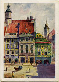 Horn Swietojanska - Old Warsaw — Stock Photo