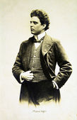 Italský skladatel pietro mascagni — Stock fotografie
