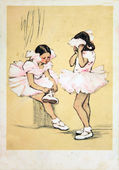 Little Ballerinas — Stock Photo