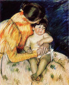 Mary Stevenson Cassatt - Mother and Child — Stockfoto
