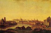 Maxim Vorobiev - View of the Moscow Kremlin on Ustyinsky bridge — Stock Photo