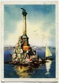 Monument to the Scuttled Ships, Sevastopol, Crimea, Ukraine, 196 — Stock Photo
