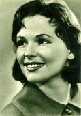 Natalia Fateeva Soviet and Russian film and stage actress — Zdjęcie stockowe