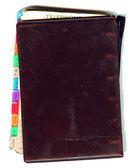 旧的笔记本 — 图库照片