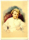 Petr Vasilev - Vladimir Lenin in childhood — Stock Photo