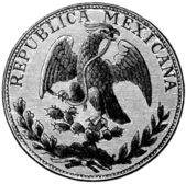 Piastra, Mexico, 1870s — Stock Photo
