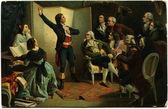 Pils - Rouget de L'Isle singing the Marseillaise, 1849 — Stock Photo