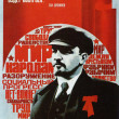 Stock Photo: Soviet political poster 1970s